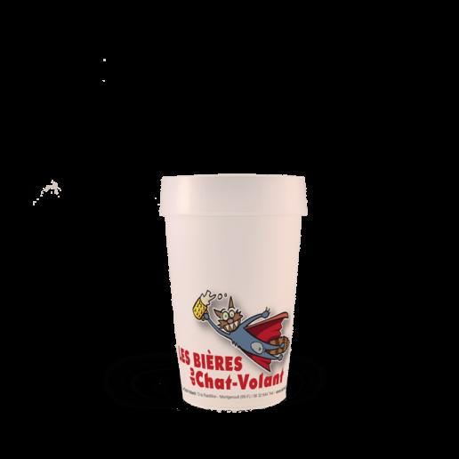 Gobelet réutilisable EP25 le Chat Volant
