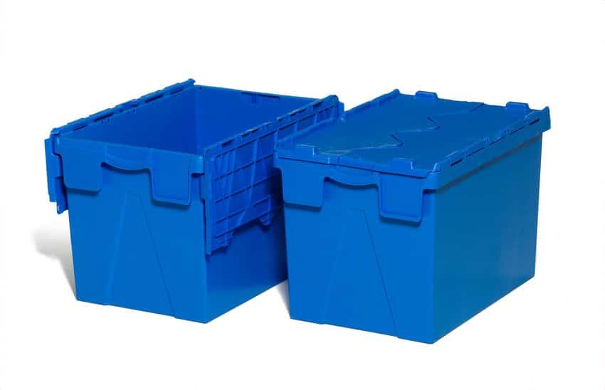 Caisse bleu
