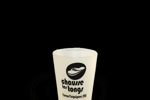 Gobelet réutilisable association Chausse tes tongs