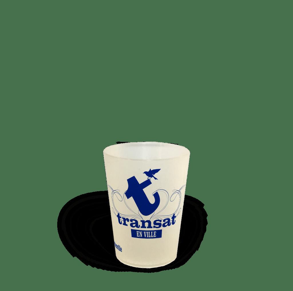 Cup 12 Gobelet réutilisable association transat en ville