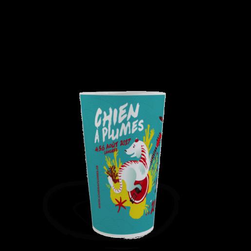 CUP 25 personnalisé Le Chien à Plumes