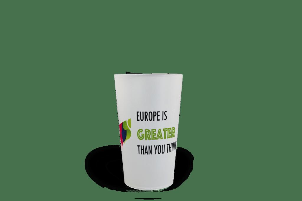 CUP 25 personnalisé Europe