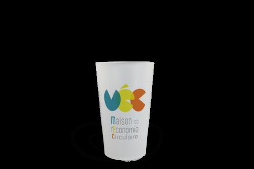 CUP 25 personnalisé Maison de l'économie circulaire