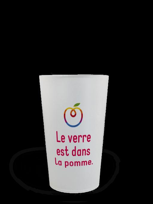 CUP 25 personnalisé Pomme 2017