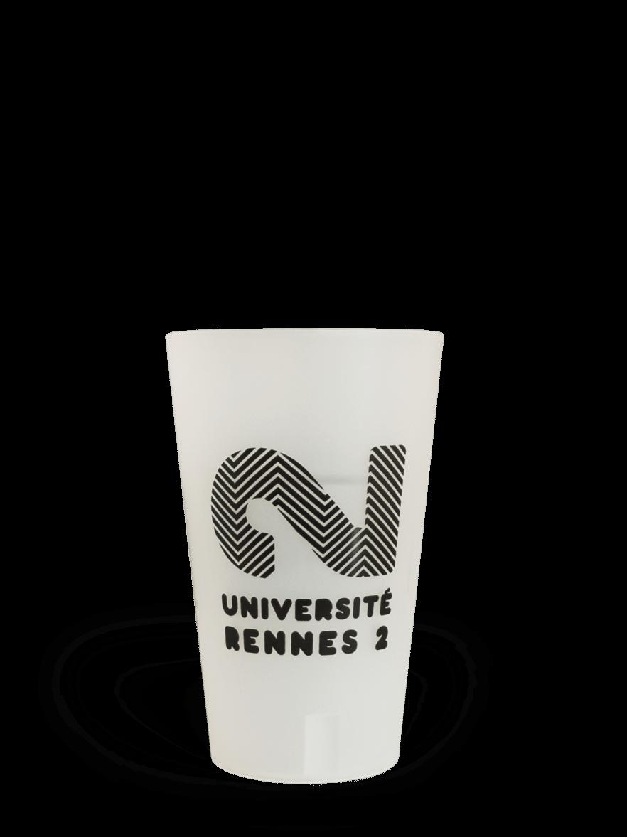 CUP 25 personnalisé Rennes 2 Histoire Deux