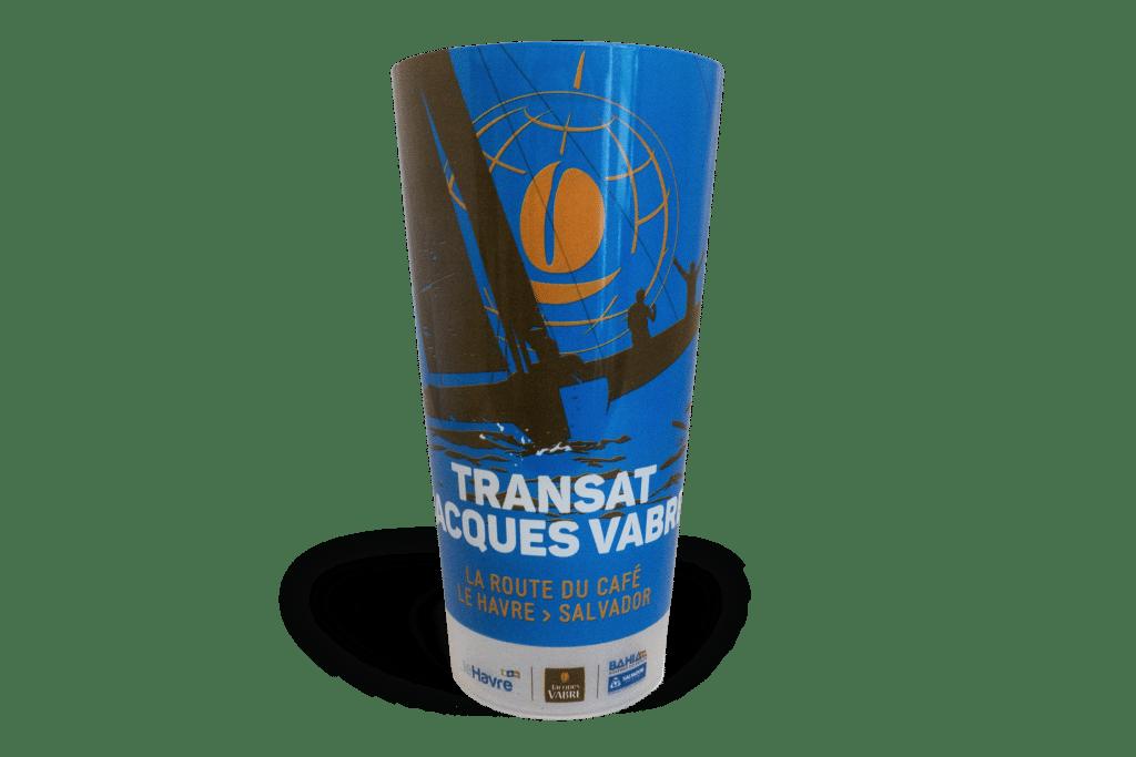 Gobelets personnalisés CUP 50 Transat Jacques Vabre