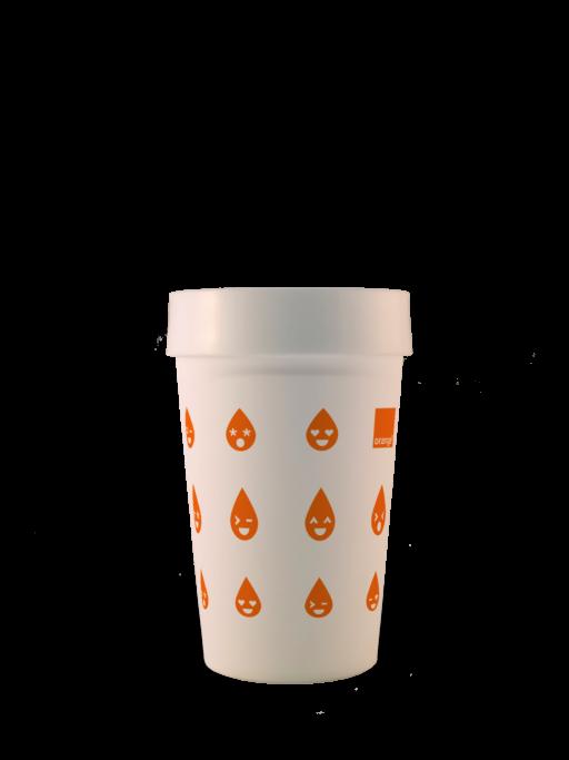 gobelets personnalisés Orange ™