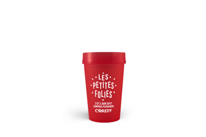 Gobelet réutilisable Les Petites folies 2016