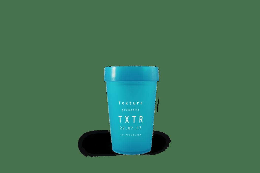 Gobelet réutilisable EP25 TXTR