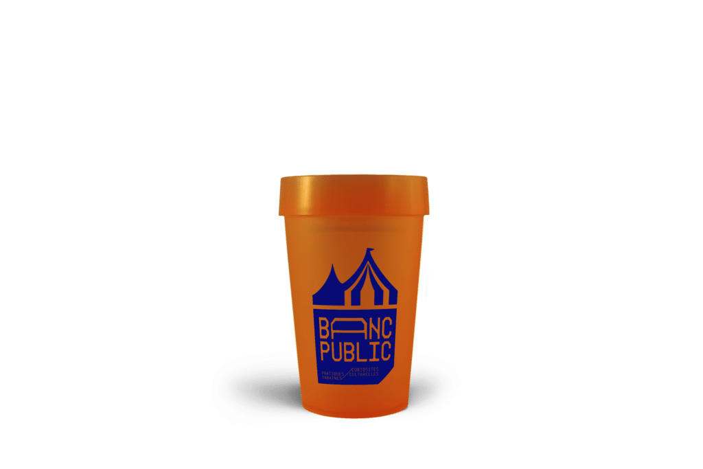 gobelet réutilisable EP25 Banc Public