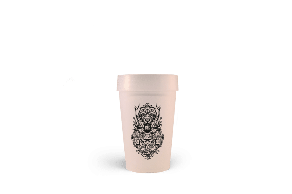 gobelet réutilisable les Zécléctiques 2016