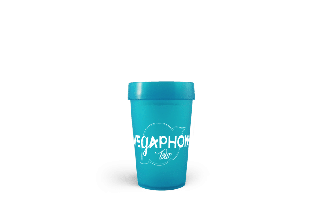 Gobelet réutilisable Mégaphone Tour