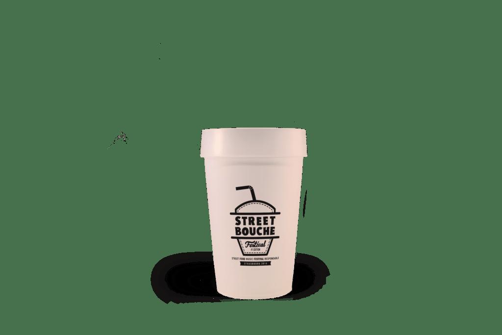 gobelet réutilisable EP25 Street bouche