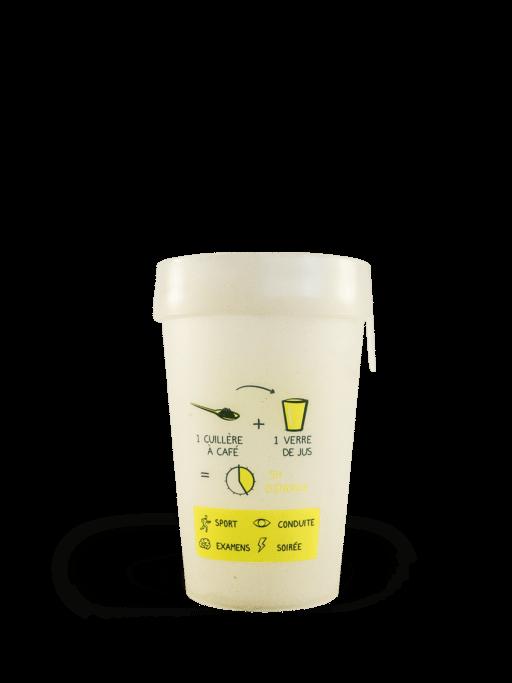 Gobelet bio-plastique d'algues personnalisé Akal Food