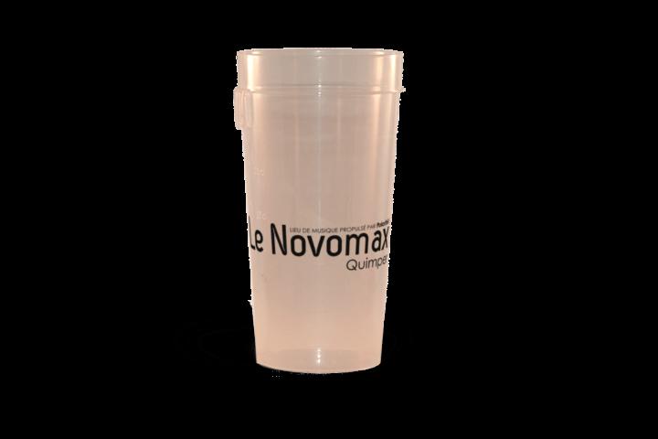 Gobelets réutilisables personalisés Ep 50 Novomax
