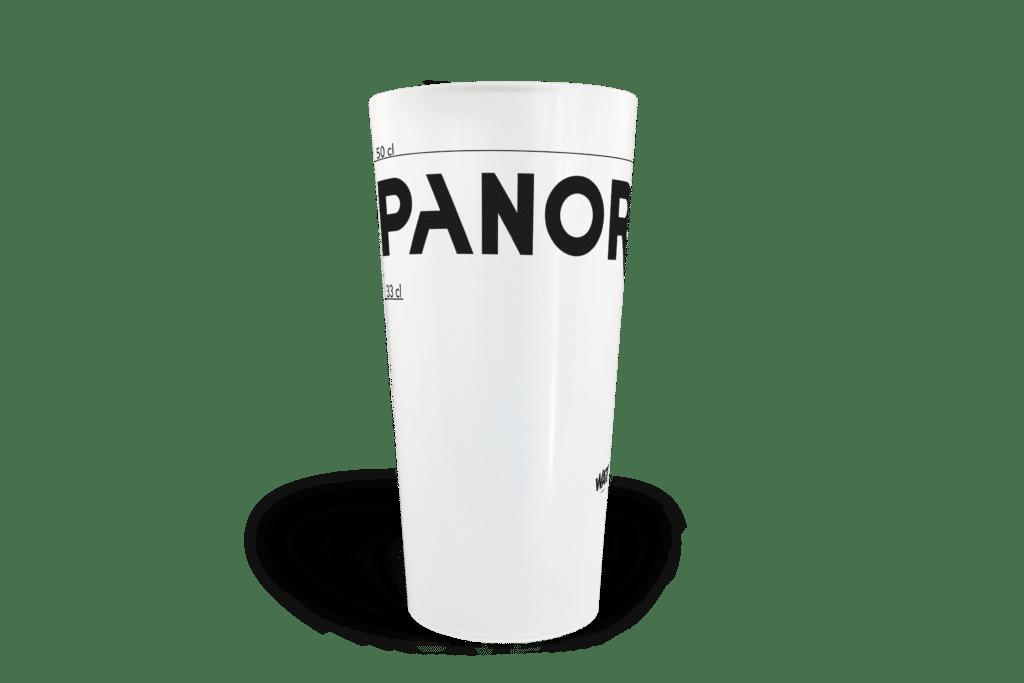 Impression sérigraphie sur gobelet neutre Cup 50 en sérigraphie