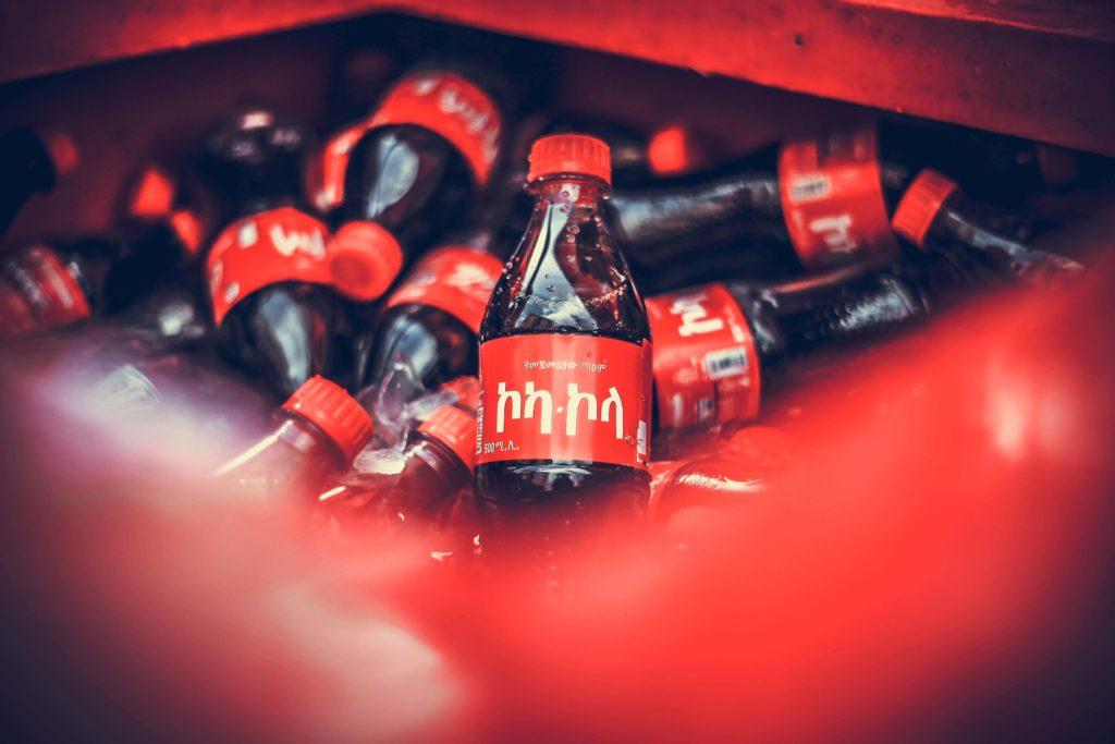 Bouteille plastique Coca Cola