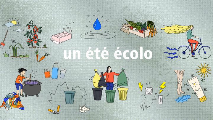 Un été écolo avec les gobelets réutilisables Esprit Planète
