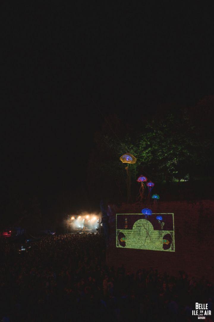 Les gobelets réutilisables Esprit Planète au festival Belle Ile On Air