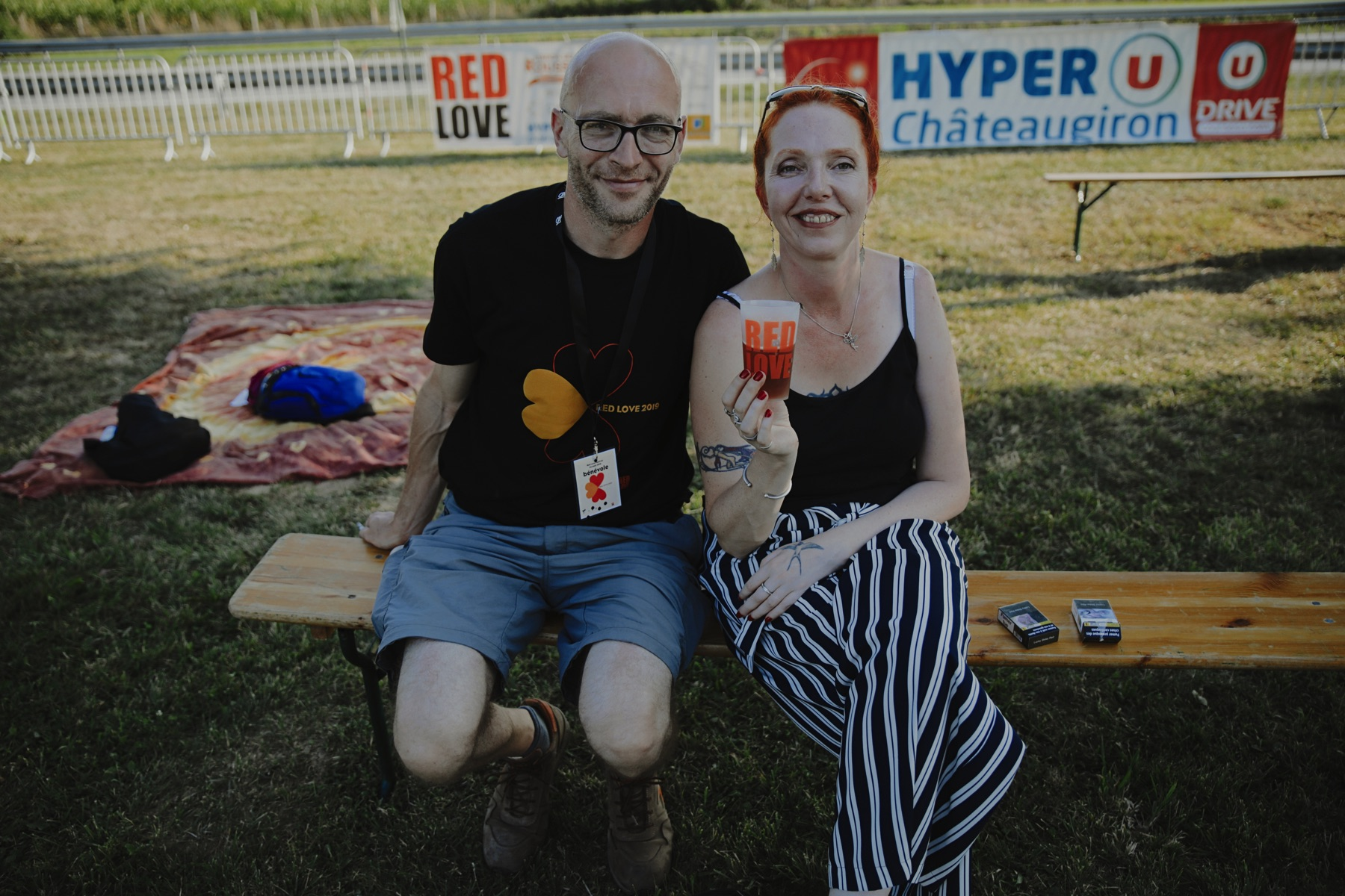 Les gobelets réutilisables Esprit Planète au Red Love Festival