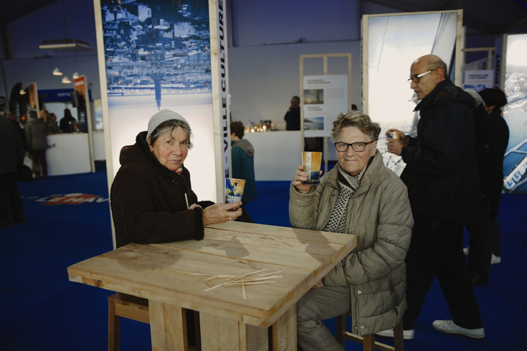 Transat Jacques Vabre 2019 et le gobelet réutilisable Esprit Planete