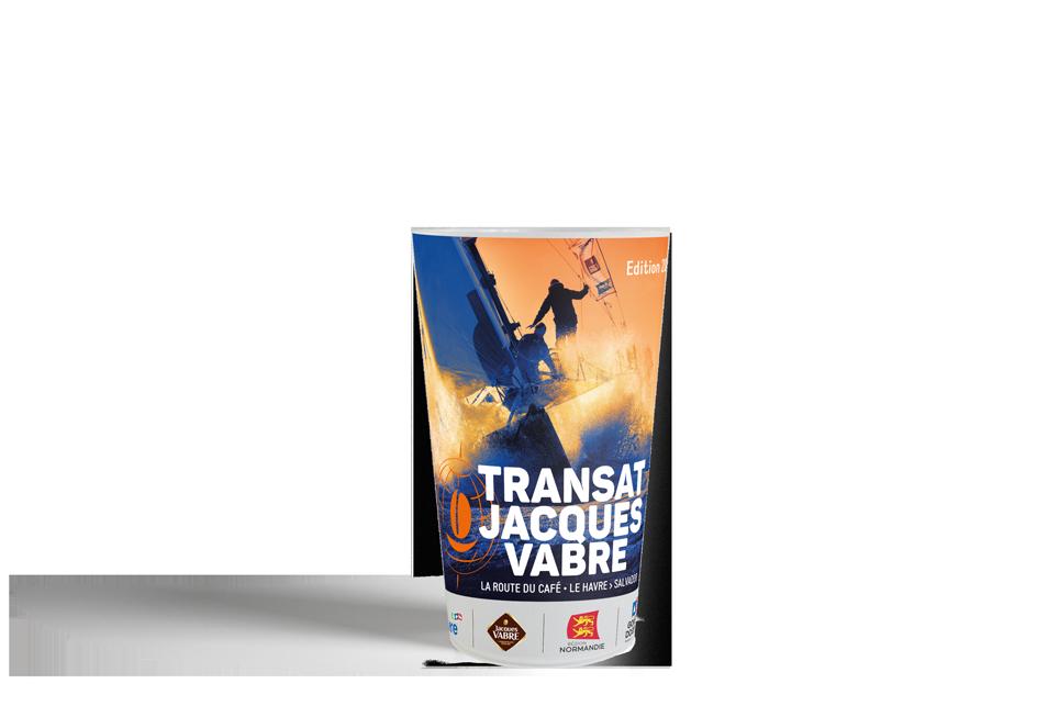 Le gobelet personnalisé Transat Jacques Vabre & Esprit Planète