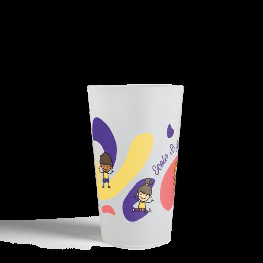 Gobelet CUP 25 Neutre generique ecole