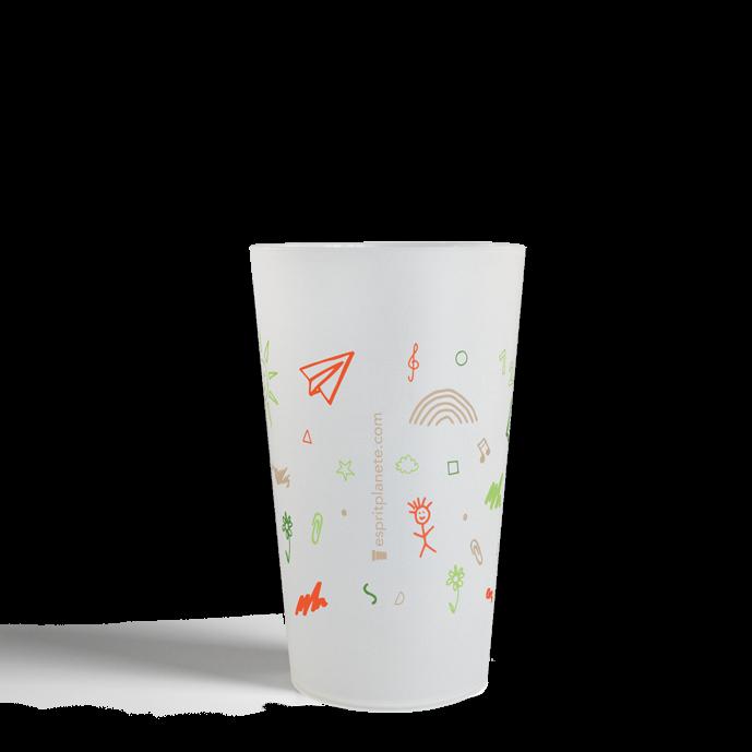 Gobelet CUP 25 Neutre APE Croquis Couleurs