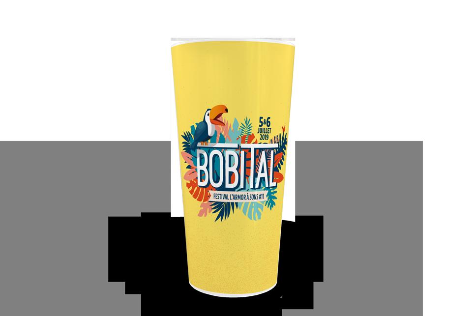 gobelets personnalisés CUP 50 Bobital