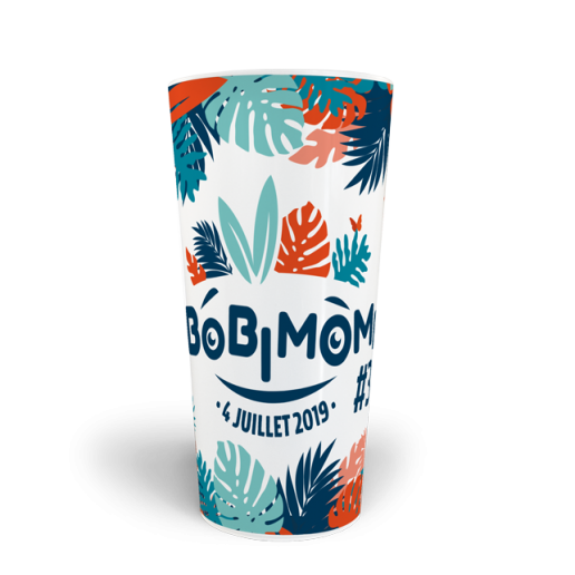gobelets personnalisés CUP 50 Bobimômes