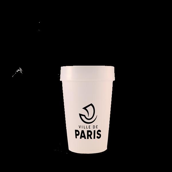 Gobelet EP 25 Neutre Mairie de Paris