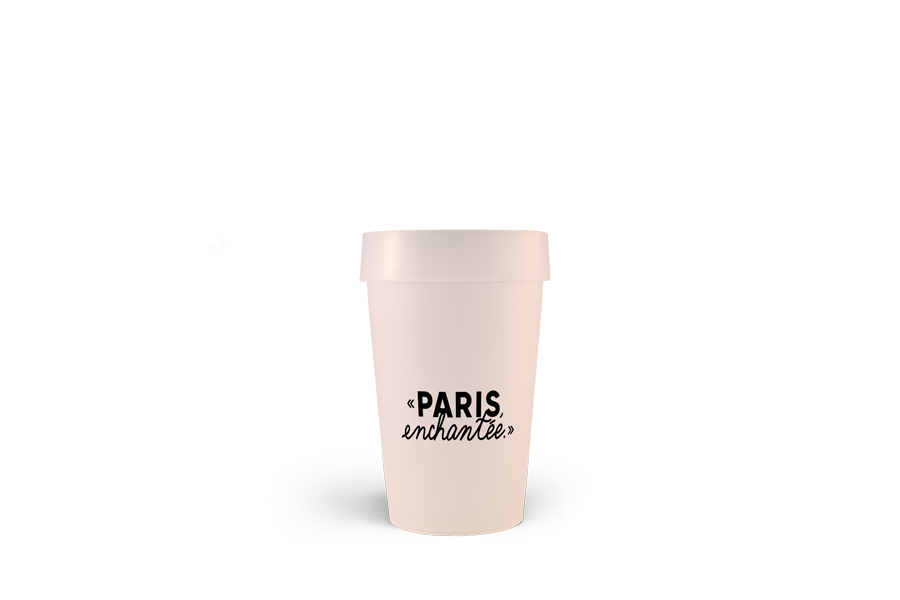 Le Bal Pop de Paris et le gobelet personnalisé Esprit Planète