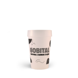 Le Festival Bobital et le gobelet personnalisé Esprit Planète