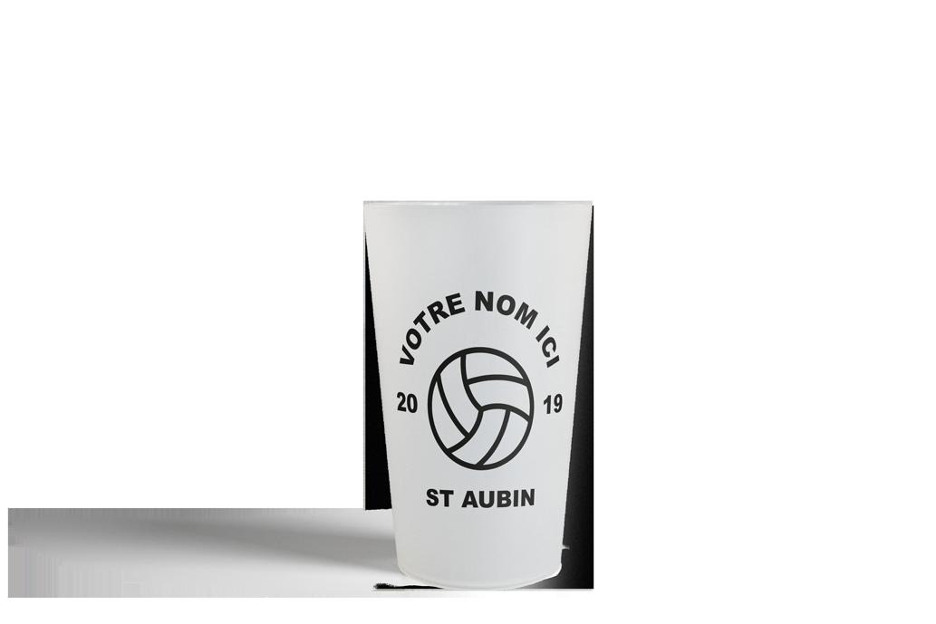 Gobelet personnalisé écusson Handball