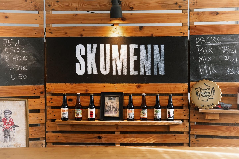 La micro brasserie Skumenn et le gobelet réutilisable Esprit Planète
