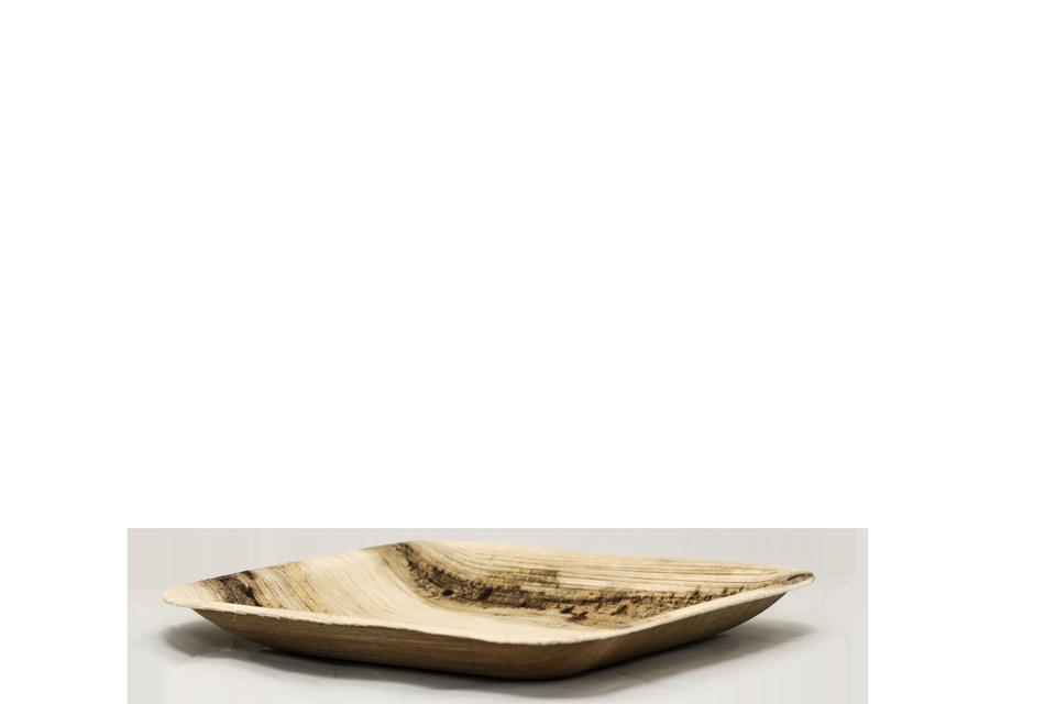 petite assiette biodégradable et compostable Esprit Planète