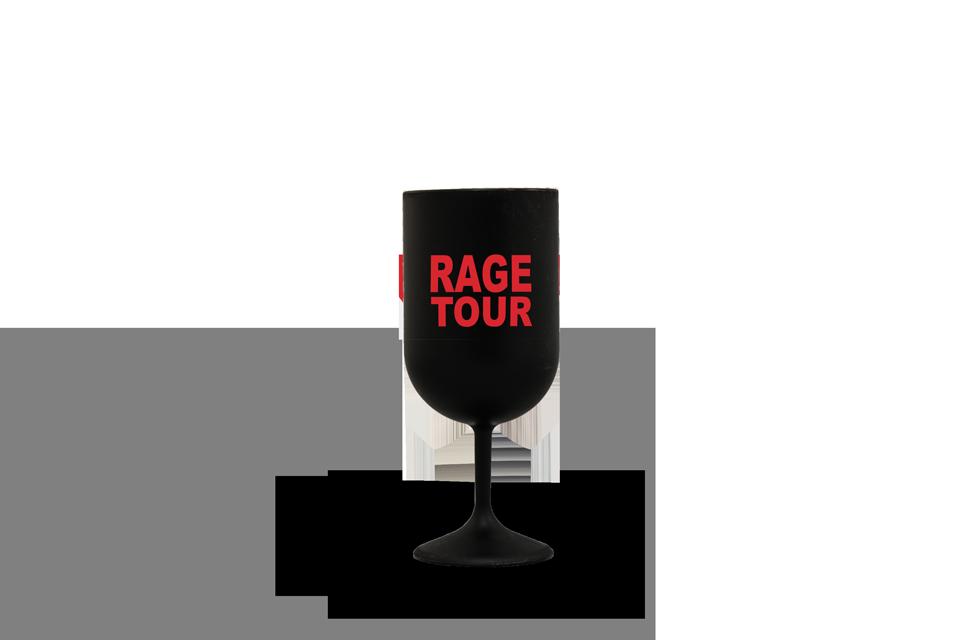 Verre à Vin Rage tour impression sérigraphie
