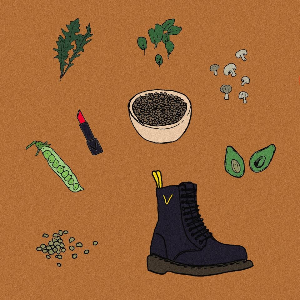 Végétarisme, véganisme, flexitarisme avec le gobelet personnalisé, personnalisable et réutilisable Esprit Planète