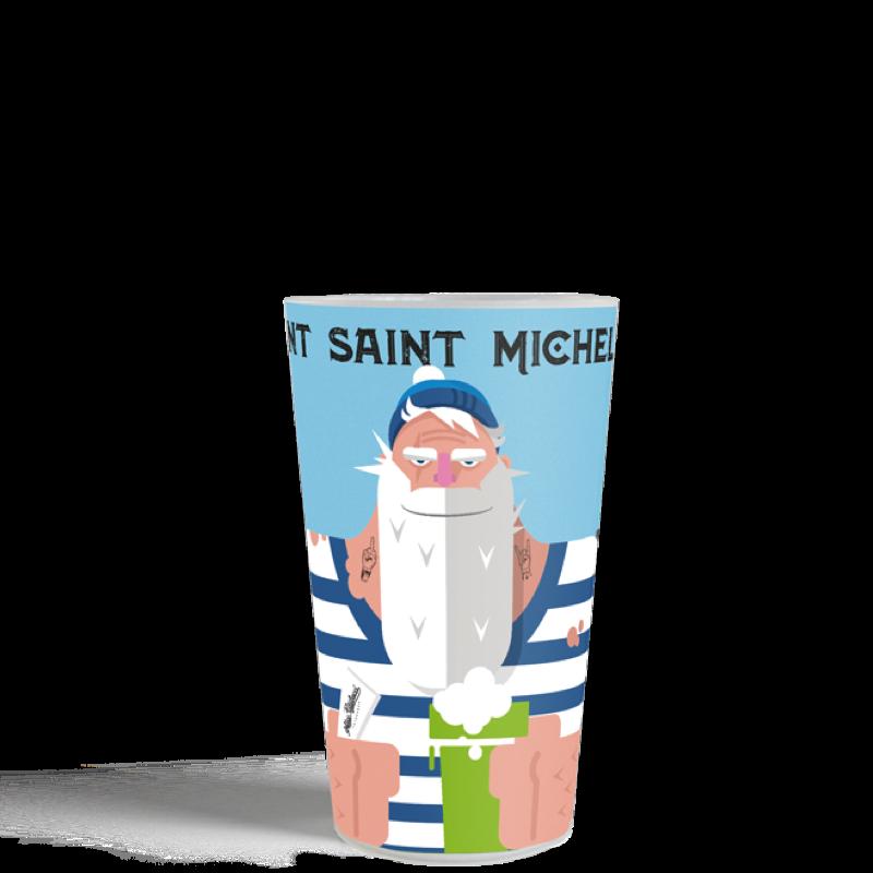 Gobelet réutilisable générique le mont saint Michel